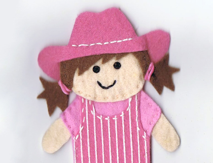 Wild West Finger Puppets by 5 Fingers
