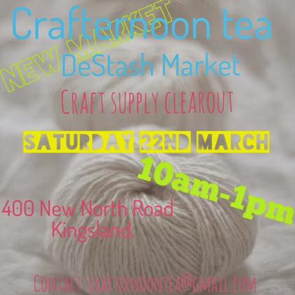 Crafternoon Tea DeStash