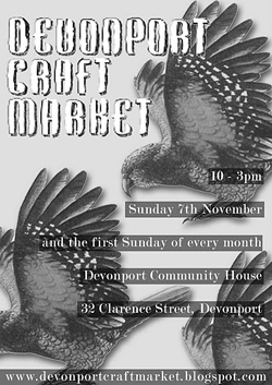 Devonport Craft Market, Sunday 7 November