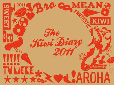 The Kiwi Diary 2011