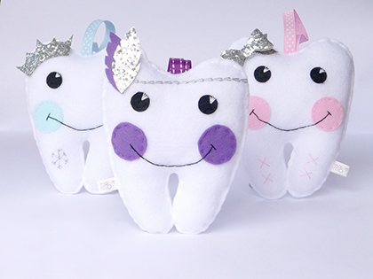 Win two adorable tooth fairy pillows from Maisie Moo!