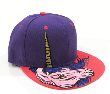 Prize _Hand Painted Unicorn Snapback (RRP$59)_with adjustable size band at the back