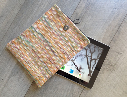 Wrapt Weaving iPad cover