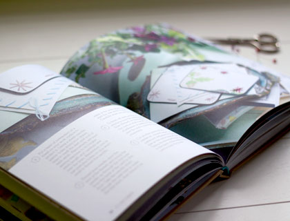 Page spread from The Art of Handmade Living by Willow Crossley