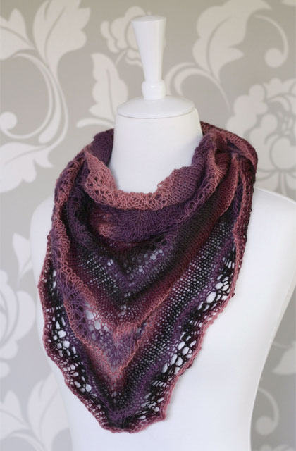 Shaelyn shawl by Beee