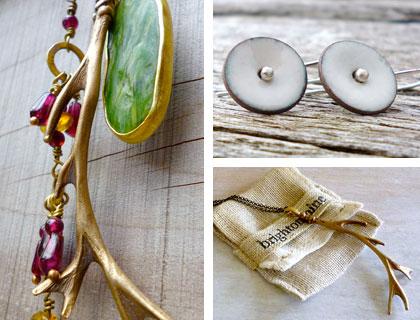 Jewellery by Fiona McDonald of Brighton Mine