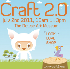 Craft 2.0, 10am–3pm Saturday 2 July, Wellington