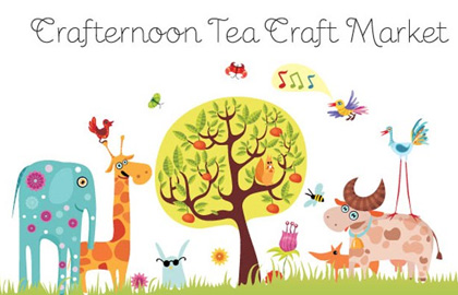 Crafternoon Tea, 10am–2pm Saturday 20 October, Auckland