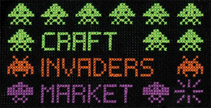 Craft Invaders, 10am–3pm Saturday 28 July, Christchurch