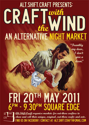 Craft with the Wind, Friday 20 May, Palmerston North