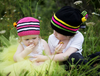 Licorice Allsorts Hats by Creative Aertz