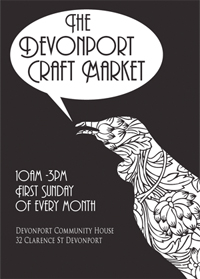 Devonport Craft Market, 10am–3pm Sunday 3 July, Auckland