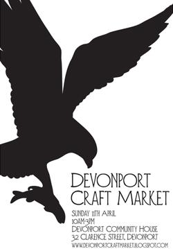 Devonport Craft Market, 10am – 3pm, Sunday 11 April