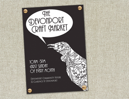 Devonport Craft Market, Sunday 7 August, Auckland