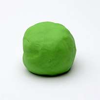 Natural Play Dough - Apple Green by Dough Queen