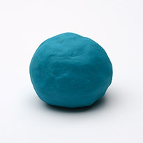 Natural Play Dough - Cerulean Blue by Dough Queen