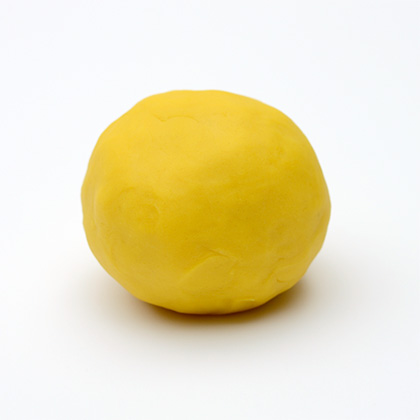 Natural Play Dough - Gorgeous Yellow by Dough Queen