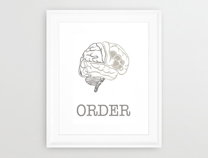 ORDER Print by dpdesign