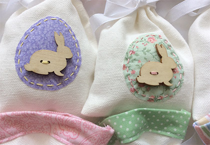 Easter treat bags by Mimi and Rufus