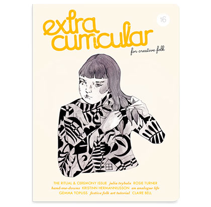 Extra Curricular magazine issue 16 – order yours now!