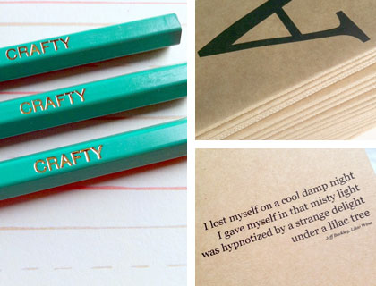 Notebooks and pencils by Emma Makes