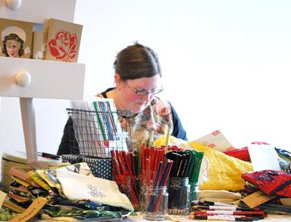 Emma at Craft 2.0