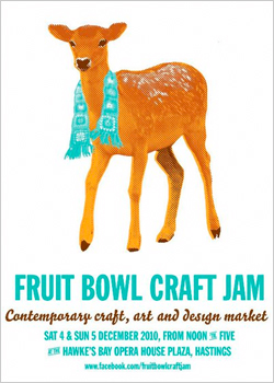 Fruit Bowl Craft Jam, 4 & 5 December, Hastings