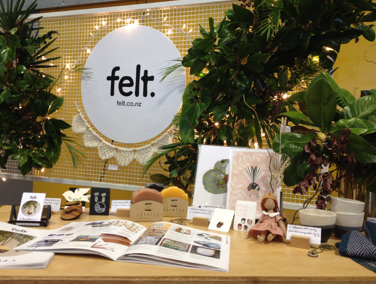 Felt stand at General Collective