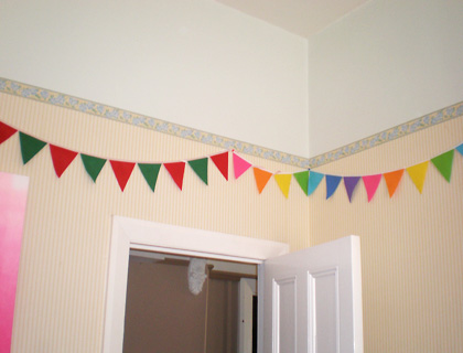 Birthday Bunting by Felt Like Celebrating