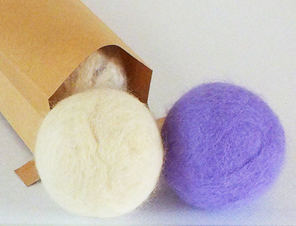 feltsoapgood wool dryer ball set of three