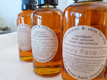 foxriverbathco luxury face oil
