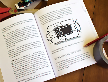 Interior spread of Geek Dad: Awesomely Geeky Projects & Activities for Dads & Kids to Share
