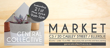 General Collective Market, Saturday 21 May
