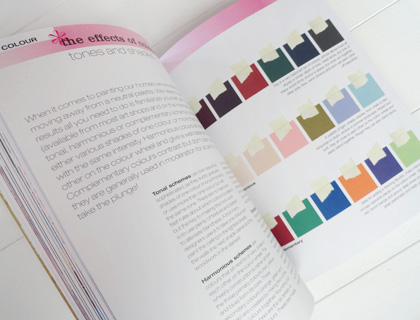 Double page spread from A Girl's Guide to Decorating – Abigail Ahern