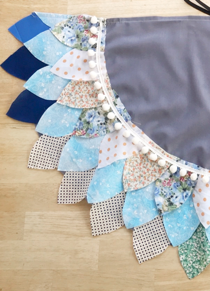 Fabric wings by Hello Fallow
