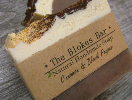 Gift Box of 3 Honey & Spice BLOKE SOAPS