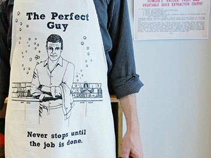 The Perfect Guy Apron by Natty