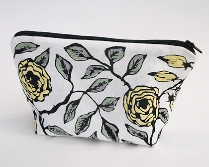 Cosmetic bag by Jill Butler