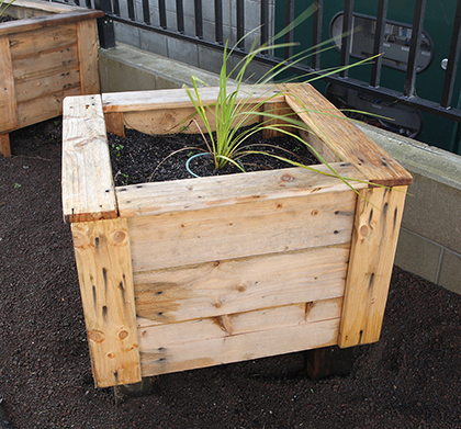 kete upcycled planter blog