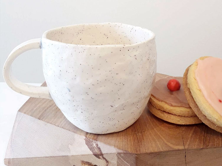 Pinch Cup Kit Set by General Pottery