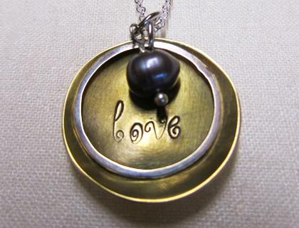Love pendant by Lovebird