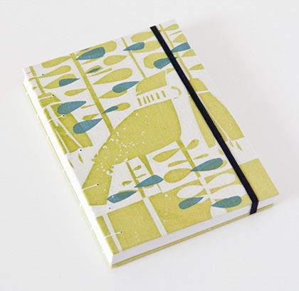 Tui and Kowhai journal, limited edition by Mettaville and Holly Roach