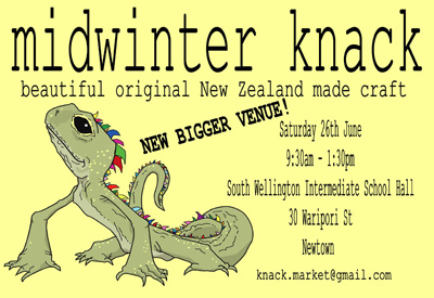 Midwinter Knack, 9.30am – 1.30pm Saturday 26 June