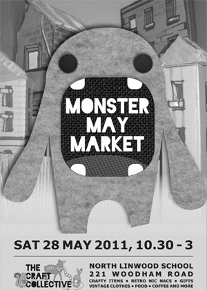 Monster May Market, 10.30am–3pm, Saturday 28 May, Christchurch