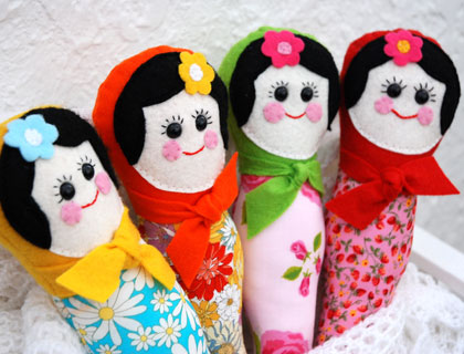 Babushka rattle by Mushymoo