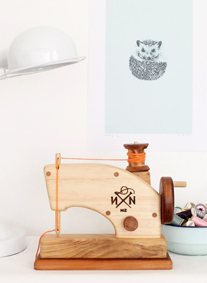 Needle & Nail || Wooden Toy Sewing Machine