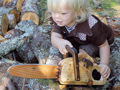 Needle & Nail || Wooden Toy Chainsaw