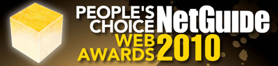 People's Choice NetGuide Web Awards2010