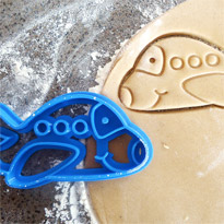 3D Printed Plane Cookie Cutter by Making It