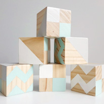 Wooden Blocks by Oh Deer and Co